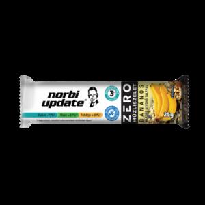 Norbi Update Banános müzliszelet kakaós bevonó talppal, édesítőszerrel 25g