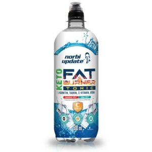 """""""Norbi Update - KETO Fat burner L-karnitin, taurin, C-vitamin és króm tartalmú Tonic ízű szénsavas ital, édesítőszerekkel 500 ml"""""""