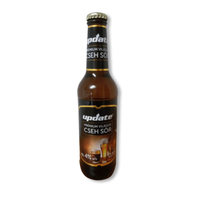 Update Prémium világos cseh sör 330 ml