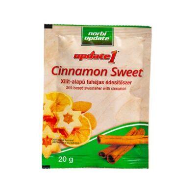 Update Cinnamon Sweet - Xilit-alapú fahéjas édesítőszer 20g