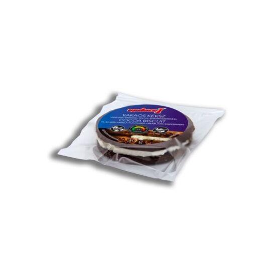 U Kakaós keksz vaníliaízű krémmel töltve, édesítőszerekkel 30g,  Külföldre nem szállítjuk!