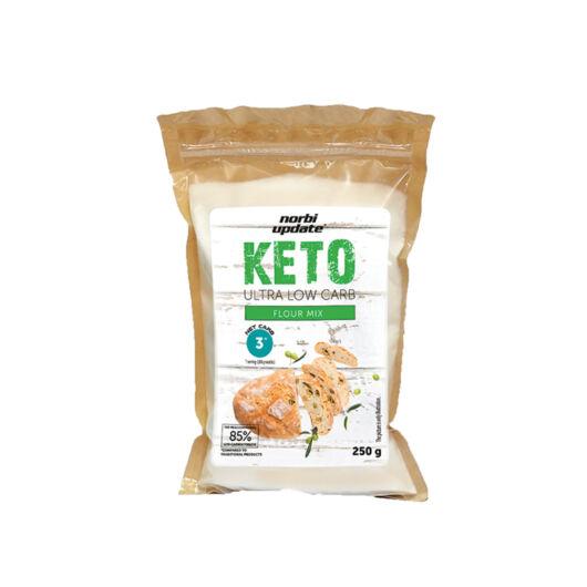 Norbi Update Keto Ultra Low Carb Flour Mix Lisztkeverék 250 g