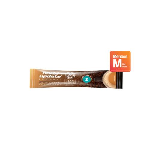 Norbi Update Low Carb Instant kávé 3 in 1, édesítőszerrel 10 g