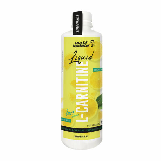 UPDATE L-CARNITINE LIQUID LEMON 500ml