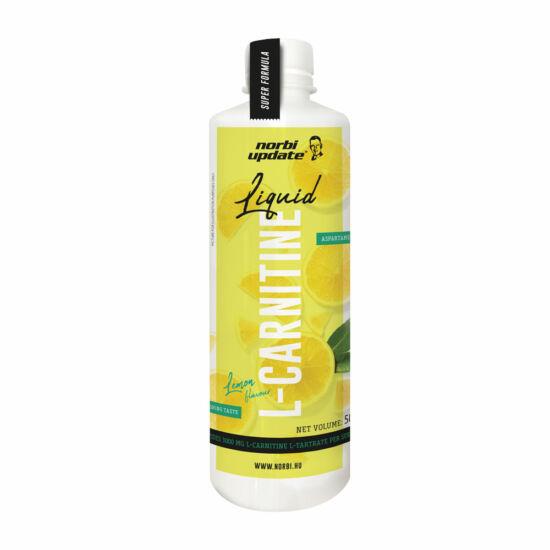Update l-carnitine liquid lemon 500ml