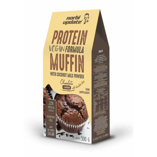 Update protein muffin chocolate with choco chips 500g