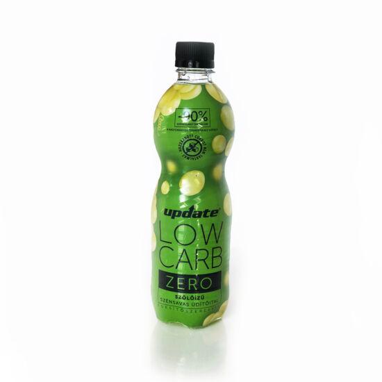 Update Low Carb Szőlő ízű energiamentes, szénsavas üdítőital édesítőszerekkel 500 ml