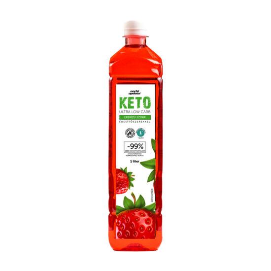 Norbi Update Keto Ultra Low carb Eper ízű szörp édesítőszerekkel 1000 ml