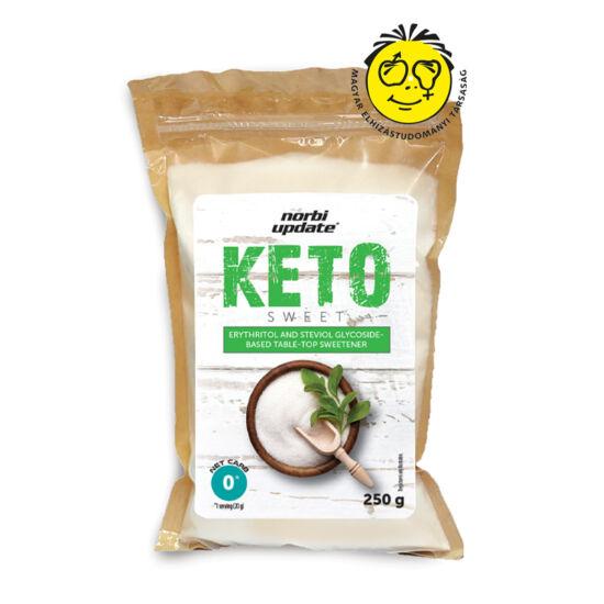 Norbi Update Keto - Eritrit  és szteviol- glikozid alapú asztali édesítőszer-keverék 250 g
