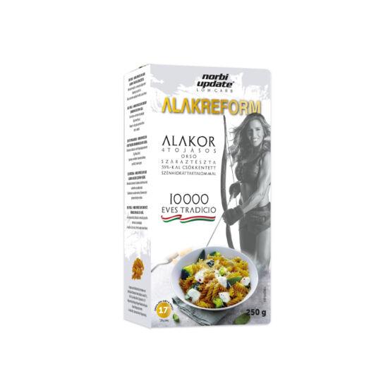 ALAKOR Norbi Update Low Carb 4 tojásos száraztészta- Orsó 250 g