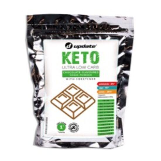 Keto csokoládéízű turmix italpor vitaminokkal, aminosavakkal, kollagénnel és édesítőszerrel 280g