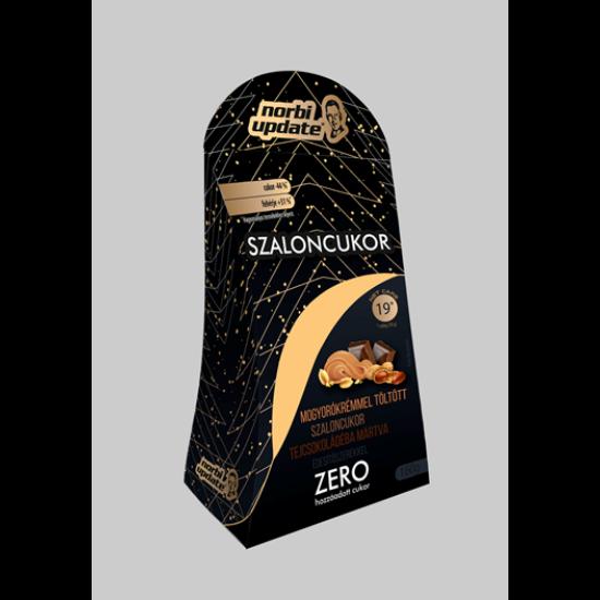 Norbi Update Szaloncukor Belga tejcsokoládéból mogyoró ízű krémmel töltve, édesítőszerekkel. 160g