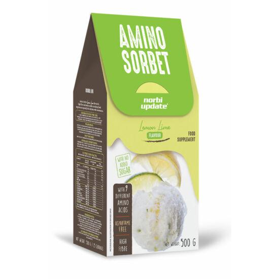 Update amino sorbet lemon lime 500g