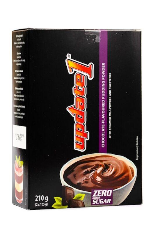 Update Csokoládé ízű pudingpor édesítőszerrel  210 g (2 x 105 g)